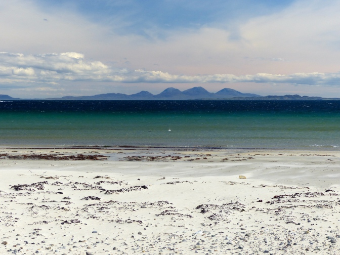 Ardalanish Beach and Jura