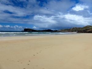 The first beach beside the car park