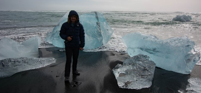 ice beach and me