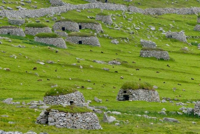 a stone landscape
