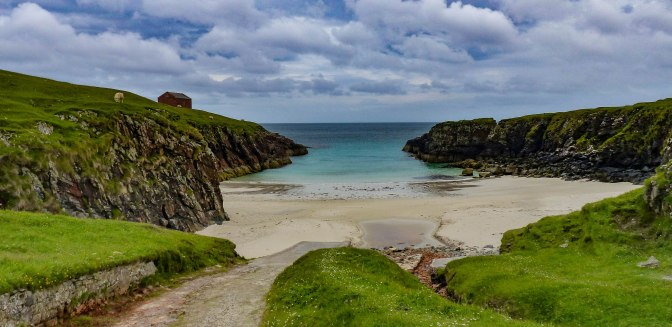sheltered cove for tea