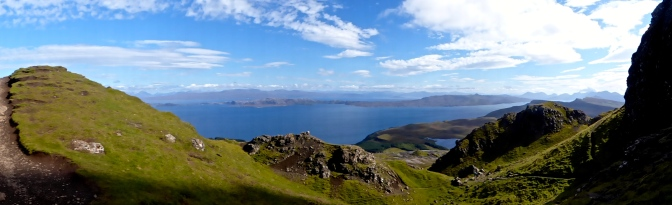 View to Raasay, Applecross and Torridon