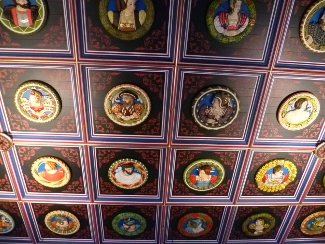 Restored_ceiling_of_the_King's_Chamber,_Stirling_Castle