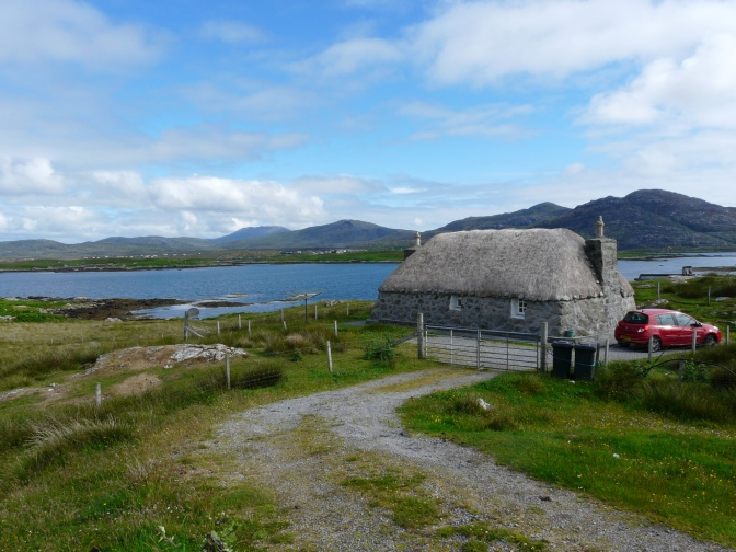 OUr wee cottage in South Uist
