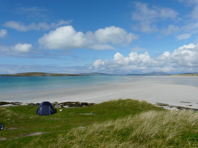 The Tent .North Uist