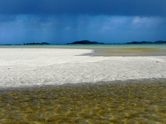 Wild beaches on South Uist