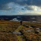 A Walk to the Top of Benbecula
