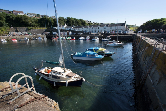The harbour at Dunure, South Ayrshire Picture Credit : Paul Tomkins