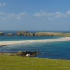SHETLAND IN 4 DAYS( Day 1: Jarlshof and St Ninian's Isle)