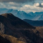 The Mountains of the South Glenshiel Ridge