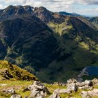 Up Close and Personal with the Aonach Eagach Ridge